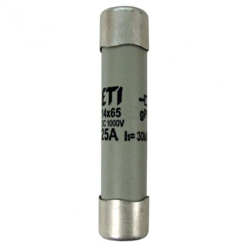 Цилиндрический предохранитель ETI CH14x65 gPV 25A/1000V