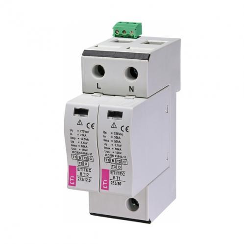 Обмежувач перенапруги ETITEC B T12 275/12,5 1+1 RC