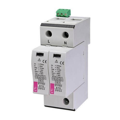 Ограничитель перенапряжения ETITEC B T12 275/12,5 2+0 RC