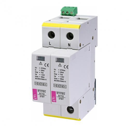 Обмежувач перенапруги ETITEC B T12 275/7 2+0 RC