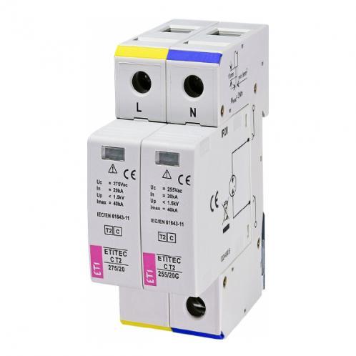 Ограничитель перенапряжения ETITEC C T2 275/20 1+1