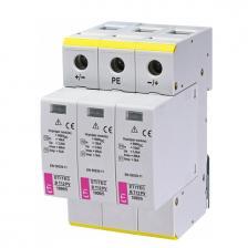 Сколько стоит Ограничитель перенапряжения ETI ETITEC B T12 PV 1000/5 для солнечных батарей