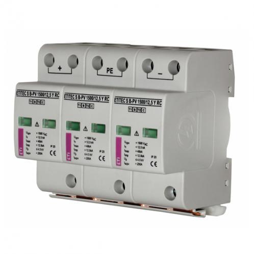 Обмежувач перенапруги ETI ETITEC S B-PV  1000/12,5