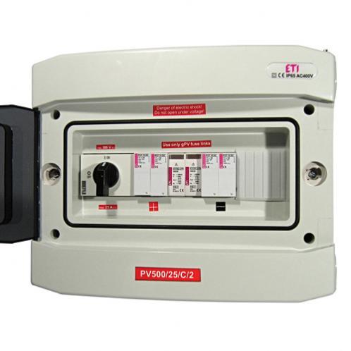 Щит распределительный для фотоэлектрических систем ETI PV1000/13/В/1