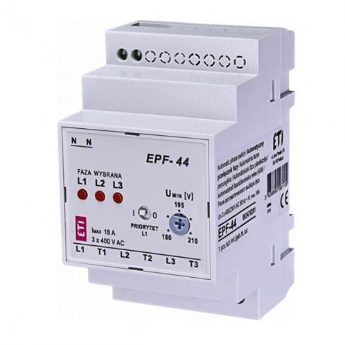Реле автоматичного вибору фаз EPF-44