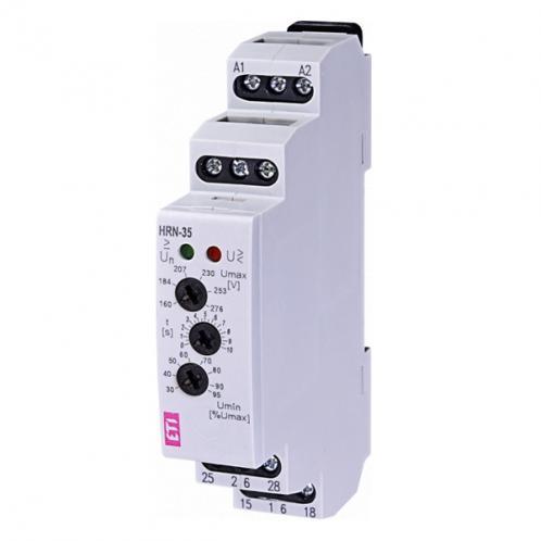 Реле контролю напруги в 1-фазних мережах HRN-35