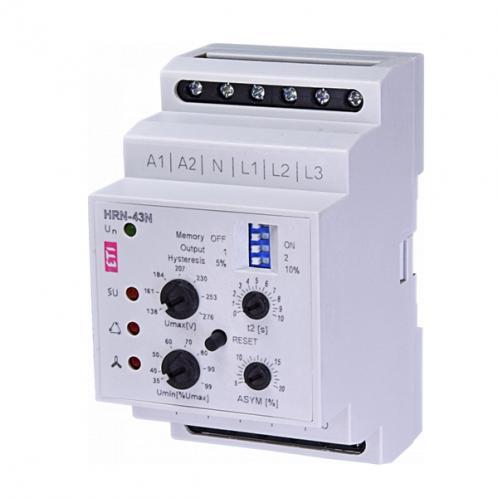 Реле контролю напруги в 3-фазних мережах HRN-43 230