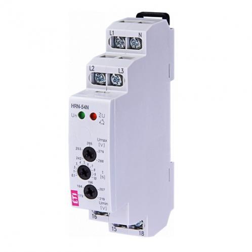 Реле контроля напряжения в 3-фазных сетях HRN-54N