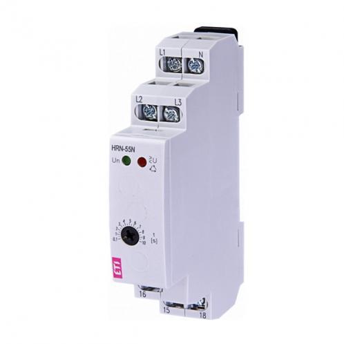 Реле контролю послідовності та обриву фаз HRN-55