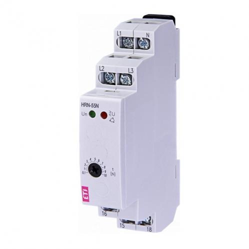 Реле контролю послідовності та обриву фаз HRN-55N