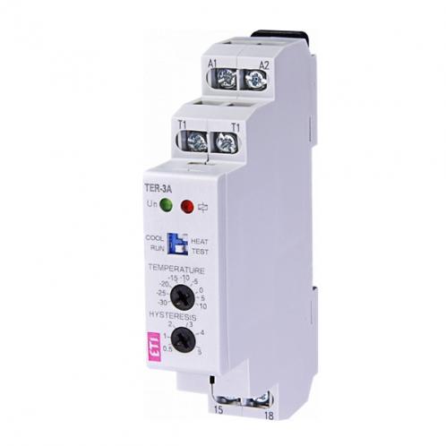 Реле контроля температуры TER-3А