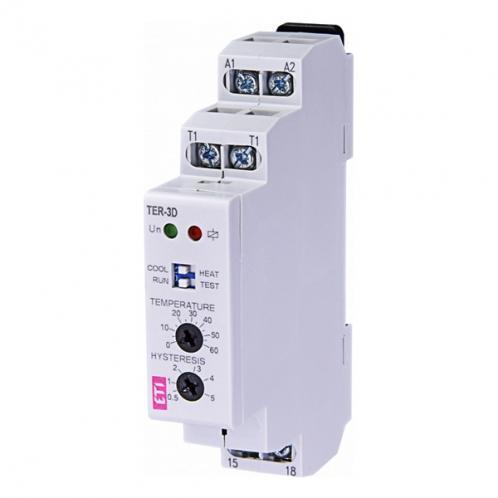 Реле контроля температуры TER-3D