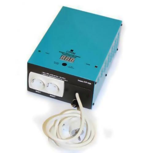 Стабилизатор напряжения Струм СтР-2000 однофазный