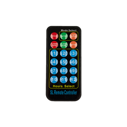 Пульт дистанційного керування для контролера заряду Altek-ASL1024