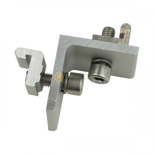 Адаптер соединения s-рейки, угол алюминиевый, уголок алюминиевый 45х45