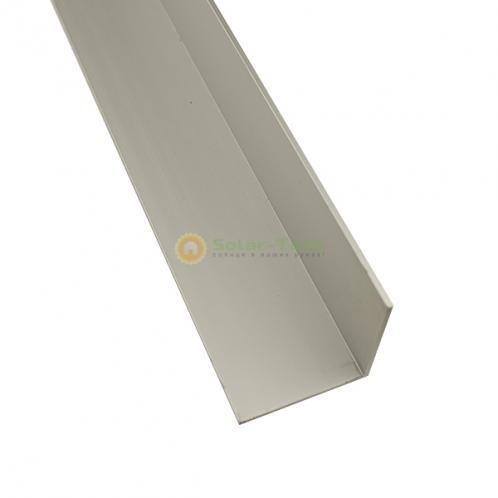 Алюмінієвий кутник 50х50х3 для формування кута нахилу сонячних панелей