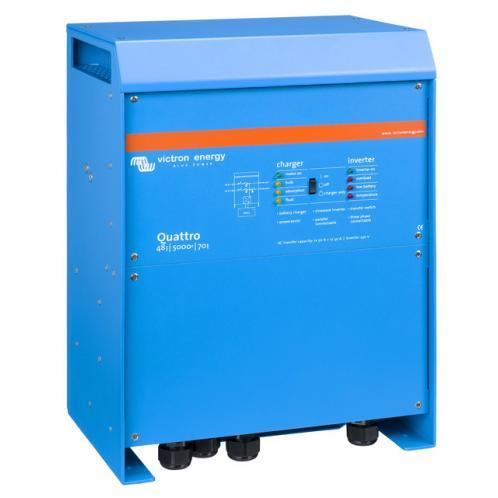 Гібридний інвертор Victron Energy Quattro с АВР 48/8000/140-100/100