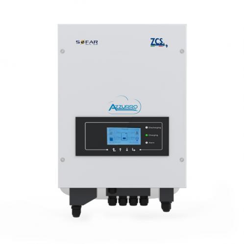 Сетевой инвертор ZCS Azzurro 10 000 TL, (10 кВт, 3-фазный, 2 МРРТ)