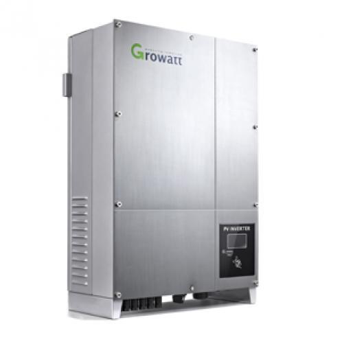 Мережевий інвертор Growatt 8000UE (8 кВт, 3-х фазний, 2 МРРТ)