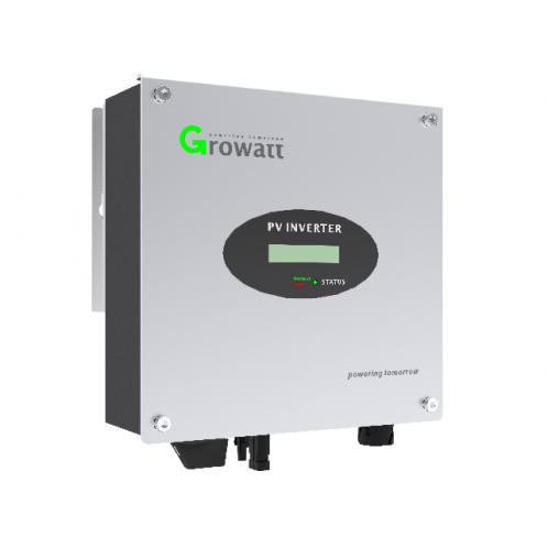 Мережевий інвертор Growatt 3000 S (3 кВт, 1-фазний, 1 МРРТ)