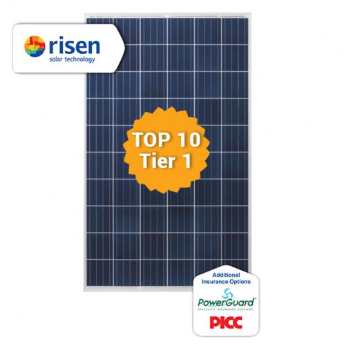 Солнечная батарея Risen RSM60-6-280P, 280 Вт / 24В