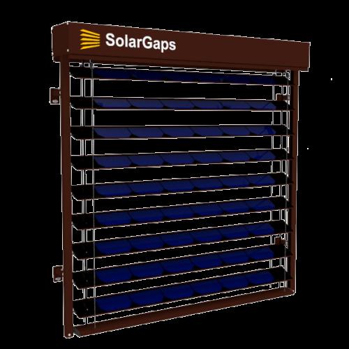 SolarGaps система жалюзі з сонячними елементами