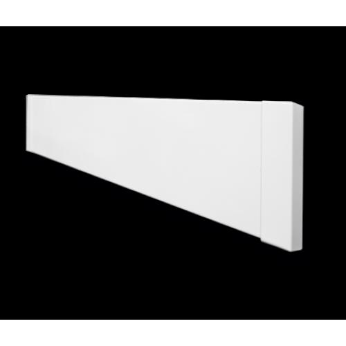 Тёплый плинтус UDEN - 200 стандарт (цвет белый)