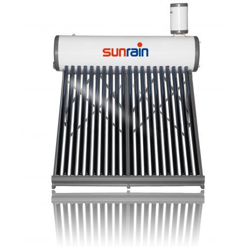 Безнапорна система з напорним теплообмінником Sun Rain з баком з сталі TZL58/1800-30Е