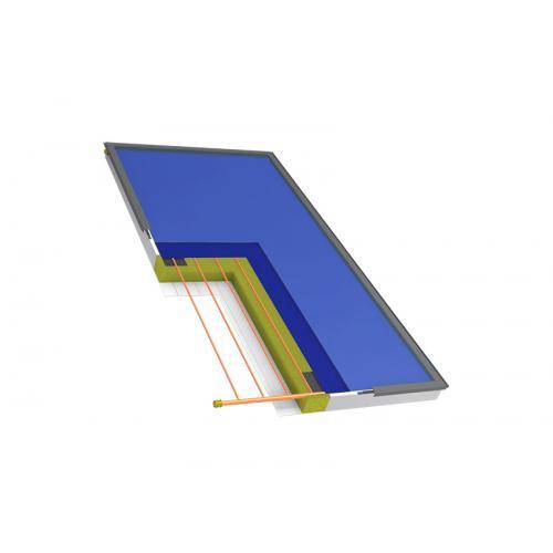 Плоский солнечный коллектор Hewalex KS2100 TLP AC 2м кв.
