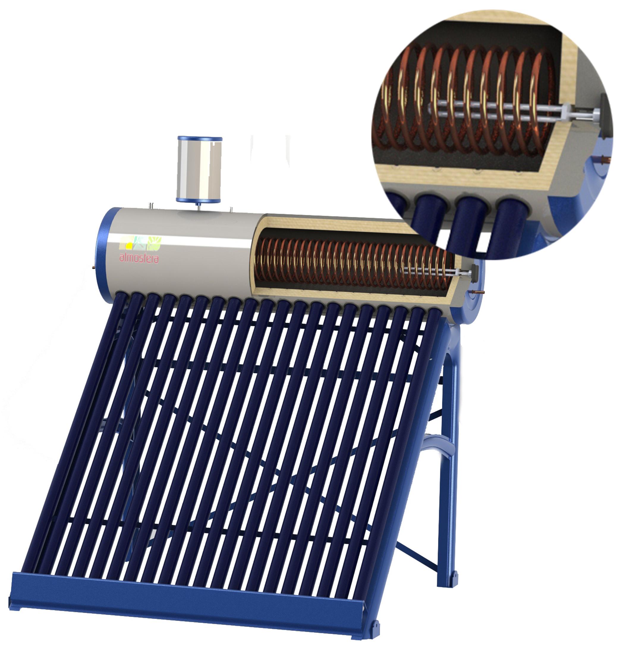 Теплообменник для солнечных коллекторов Кожухотрубный испаритель ONDA LPE 230 Дербент