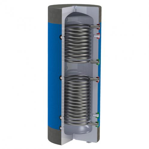 Бак аккумулирующий Werden classic УНВ 500, два теплообменника из нержавеющей стали