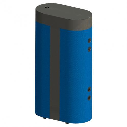Бак акумулюючий Werden Fit 1000 плоска конструкція