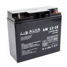 Сколько стоит Аккумуляторная батарея ALVA AW12-18