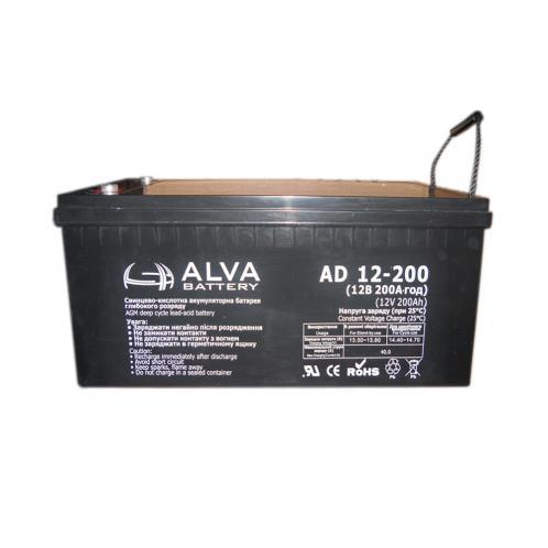 Акумуляторна батарея ALVA AD12-200