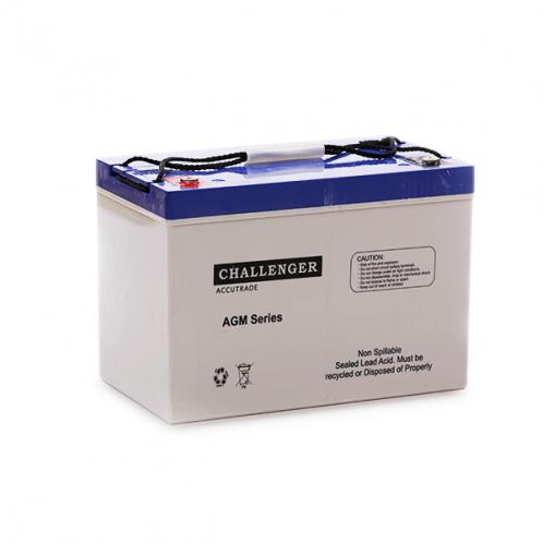 Акумуляторна батарея Challenger А12-80, 12В, 81А/ч, AGM