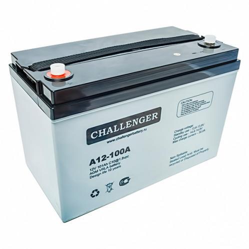 Акумуляторна батарея Challenger А12FT-100