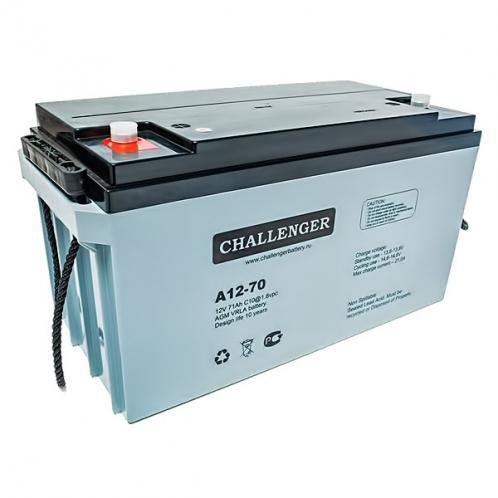 Акумуляторна батарея Challenger А12-70