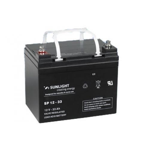 Акумуляторна батарея SunLight SPb 12-33