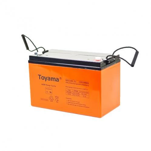 Акумуляторна батарея TOYAMA NPC 100-12