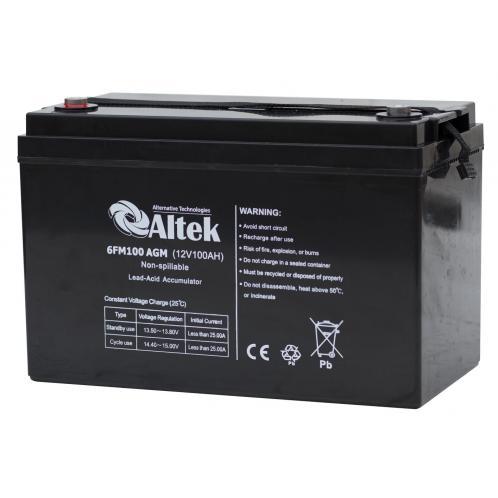 Акумуляторна батарея Altek 6FM 100GEL