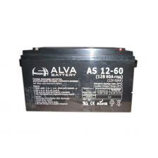 Сколько стоит Аккумуляторная батарея ALVA AS12-60