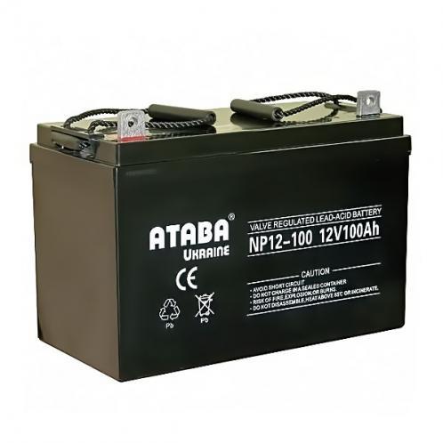 Аккумуляторная батарея ATABA 100 GEL